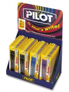 Pilot Pen Club Store Packaging