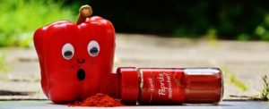 Blog Image Googly eyes on a red pepper